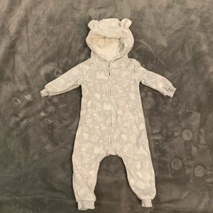 6 month hooded baby outfit baby gap